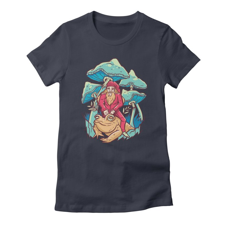 Psychedelic Wizard Women's T-Shirt by Toxic Onion - A Popular Ventures Company