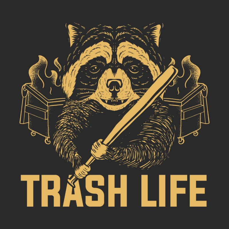 Trash Life Women's V-Neck by Toxic Onion - A Popular Ventures Company