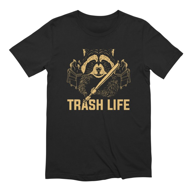 Trash Life Men's T-Shirt by Toxic Onion