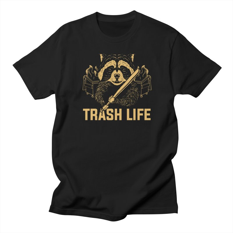 Trash Life Men's T-Shirt by Toxic Onion - A Popular Ventures Company
