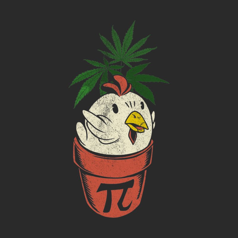 Chicken Pot Pi Men's T-Shirt by Toxic Onion - A Popular Ventures Company