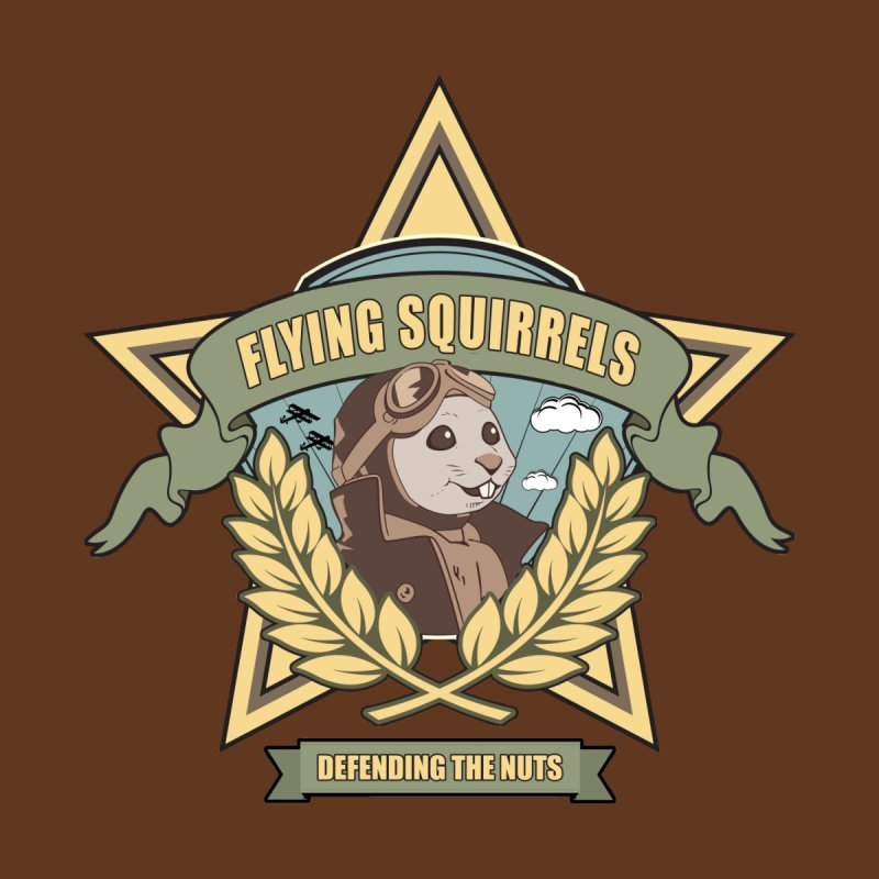Flying Squirrel Squadron Men's T-Shirt by Toxic Onion