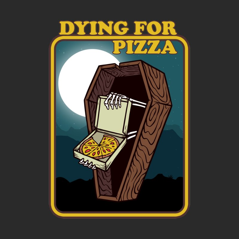Dying For Pizza Men's T-Shirt by Toxic Onion