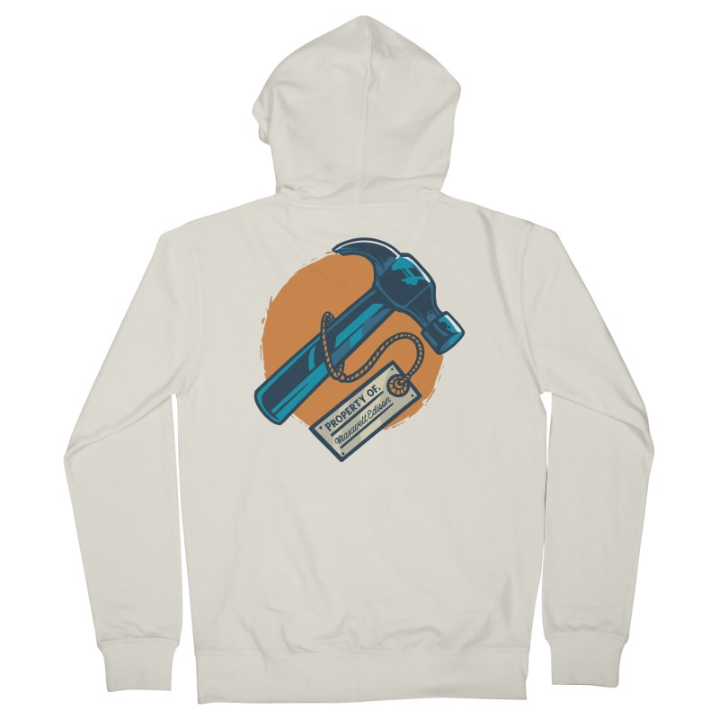 Maxwell's Hammer Men's Zip-Up Hoody by Toxic Onion - A Popular Ventures Company