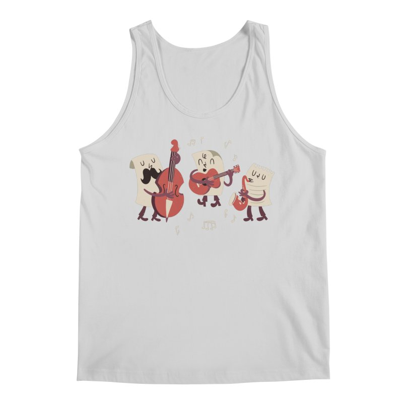 Paper Jam Men's Tank by Toxic Onion - A Popular Ventures Company