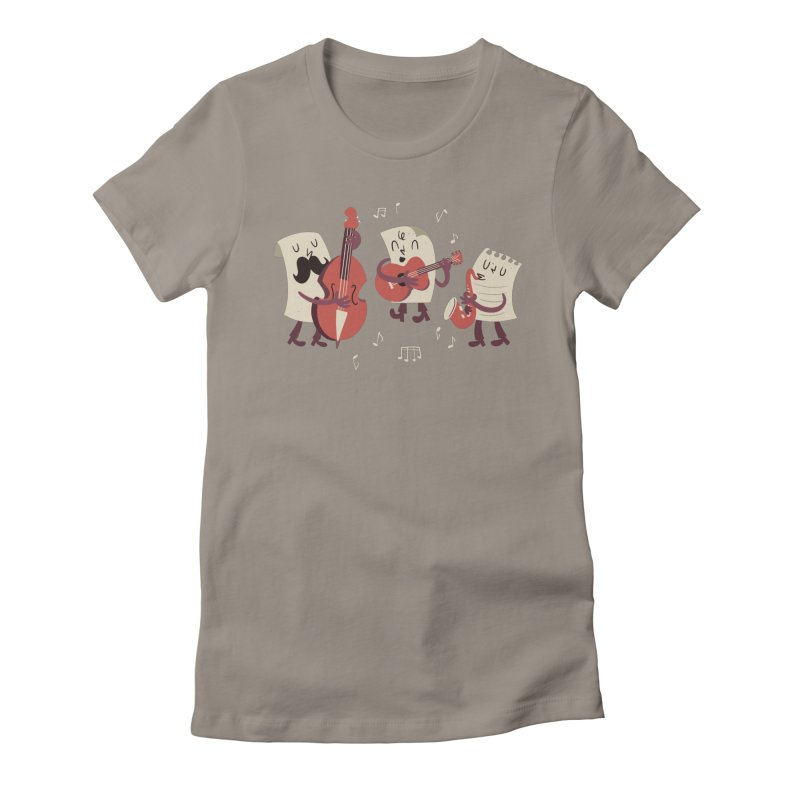 Paper Jam Women's T-Shirt by Toxic Onion - A Popular Ventures Company