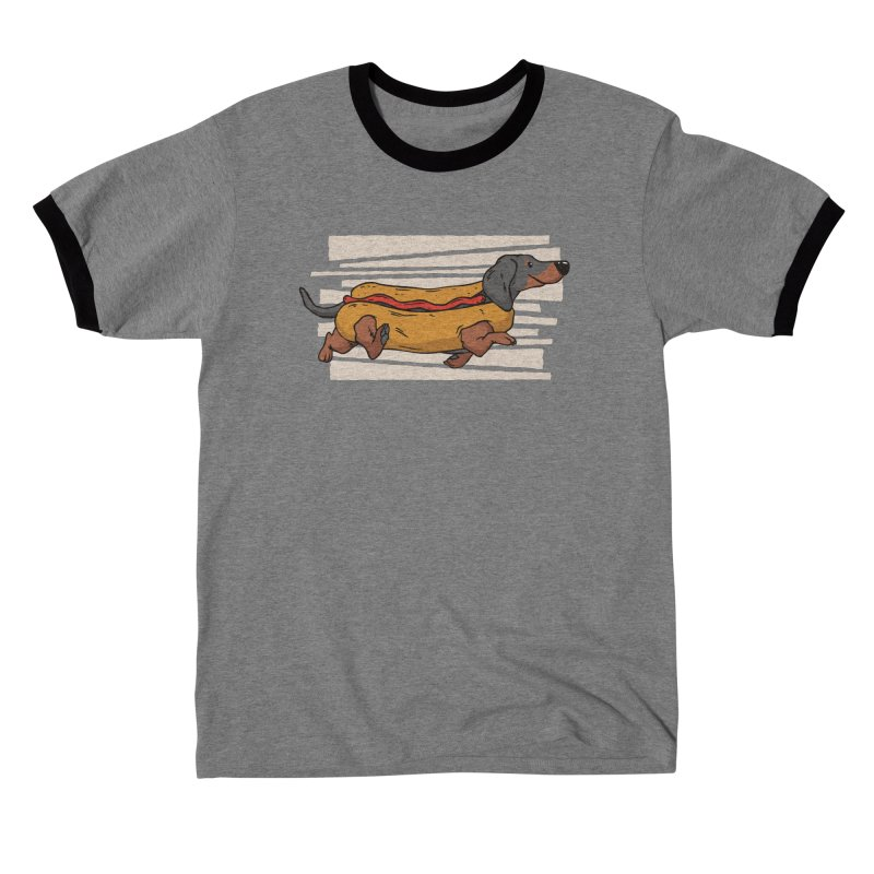 Wiener Dog Men's T-Shirt by Toxic Onion - Weird and Funny Stuff