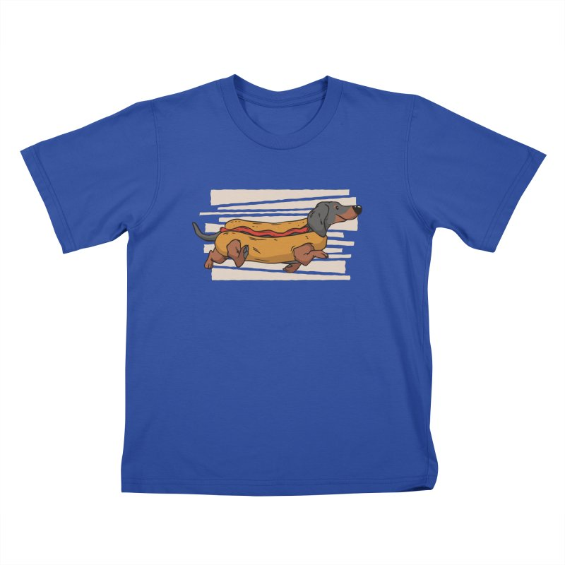 Wiener Dog Kids T-Shirt by Toxic Onion - Weird and Funny Stuff