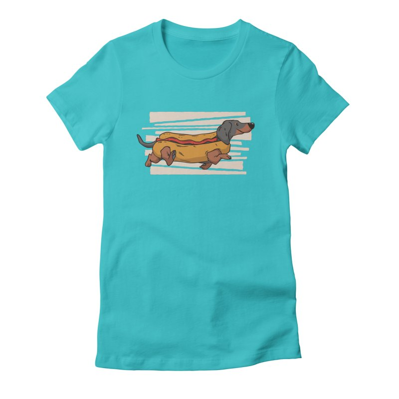 Wiener Dog Women's T-Shirt by Toxic Onion - A Popular Ventures Company