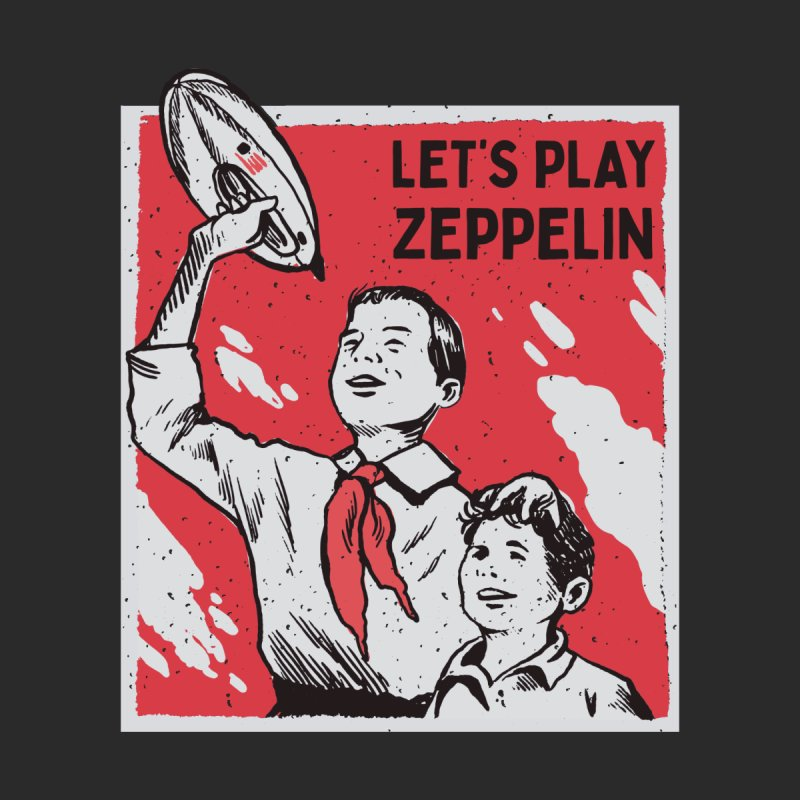 Let's Play Zeppelin Men's T-Shirt by Toxic Onion - A Popular Ventures Company