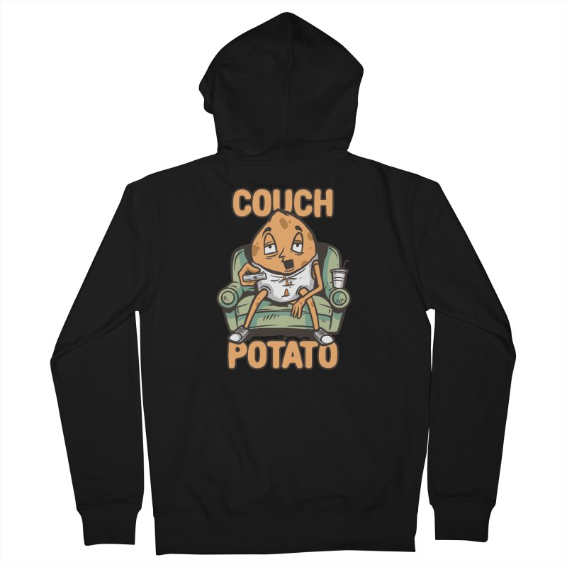 Couch Potato Men's Zip-Up Hoody by Toxic Onion - A Popular Ventures Company