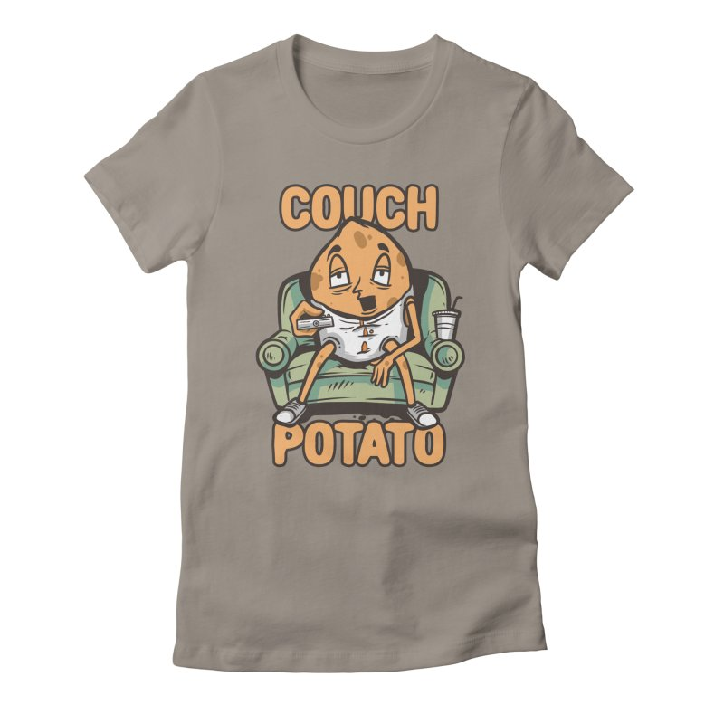 Couch Potato Women's T-Shirt by Toxic Onion - A Popular Ventures Company