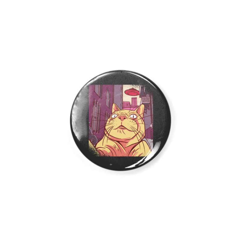 UFO Cat Selfie Accessories Button by Toxic Onion - A Popular Ventures Company