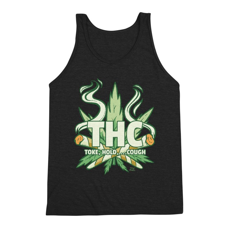 THC - Toke Hold Cough Men's Tank by Toxic Onion - A Popular Ventures Company