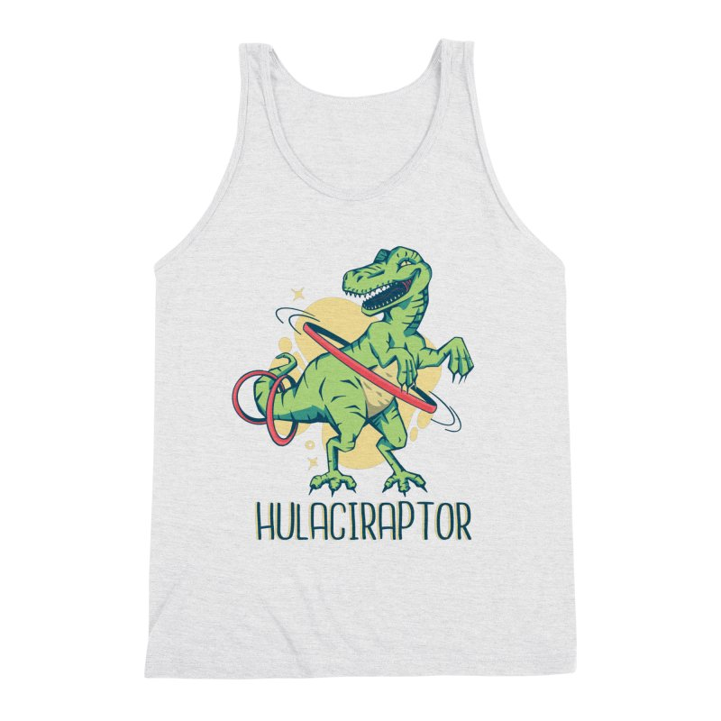 Hulaciraptor Men's Tank by Toxic Onion - A Popular Ventures Company