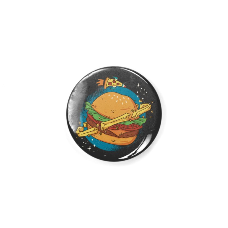 Fast Food Planet Accessories Button by Toxic Onion - A Popular Ventures Company