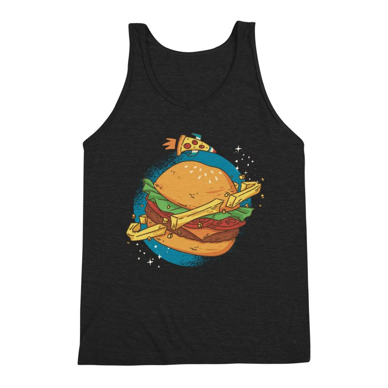 Fast Food Planet Men's Tank by Toxic Onion - A Popular Ventures Company