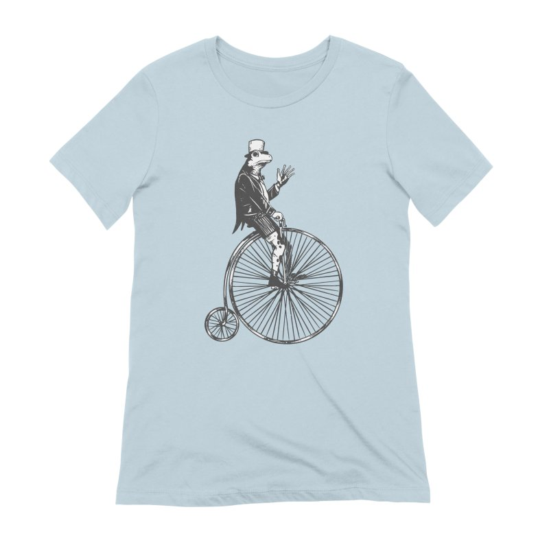 Cycling Frog Women's T-Shirt by Toxic Onion - A Popular Ventures Company