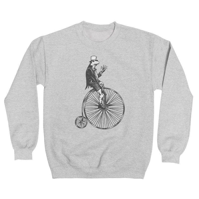 Cycling Frog Women's Sweatshirt by Toxic Onion - A Popular Ventures Company
