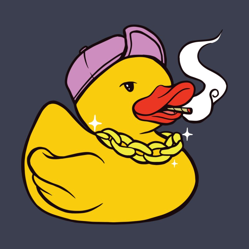 Stoner Rubber Duck Men's T-Shirt by Toxic Onion - A Popular Ventures Company
