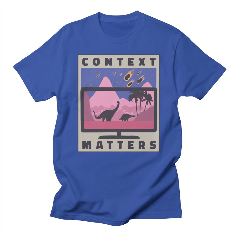 Context Matters Men's T-Shirt by Toxic Onion - Weird and Funny Stuff