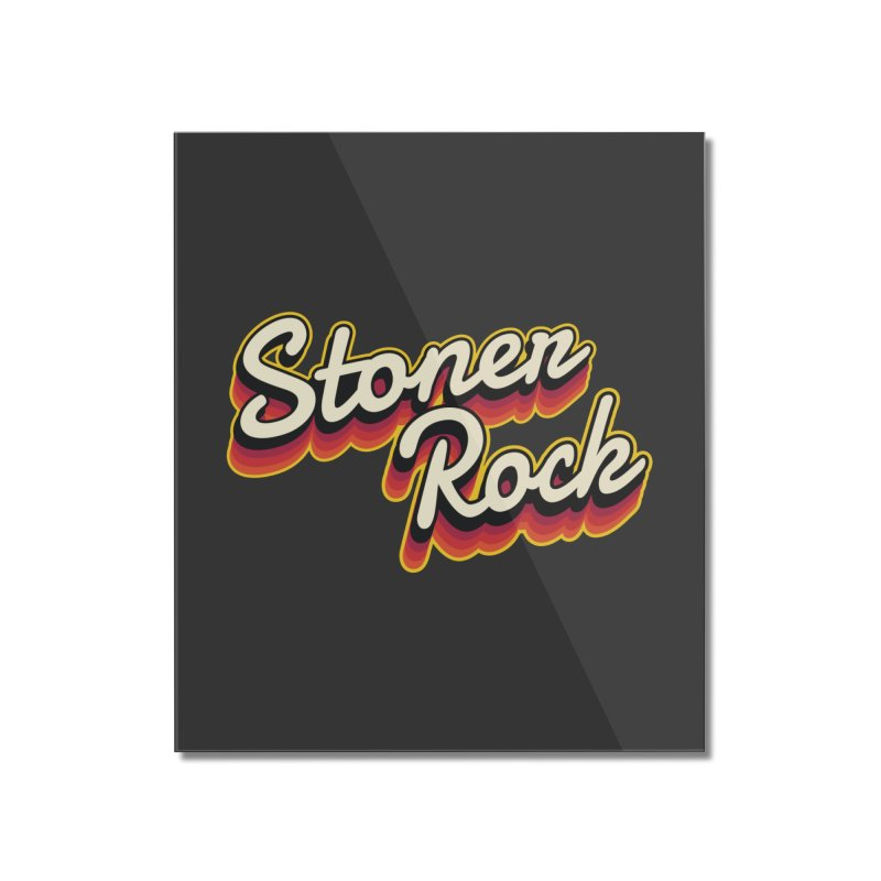 Stoner Rock Home Decor Mounted Acrylic Print by Toxic Onion - A Popular Ventures Company