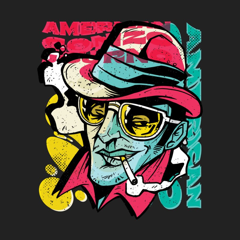American Gonzo Men's T-Shirt by Toxic Onion - Weird and Funny Stuff