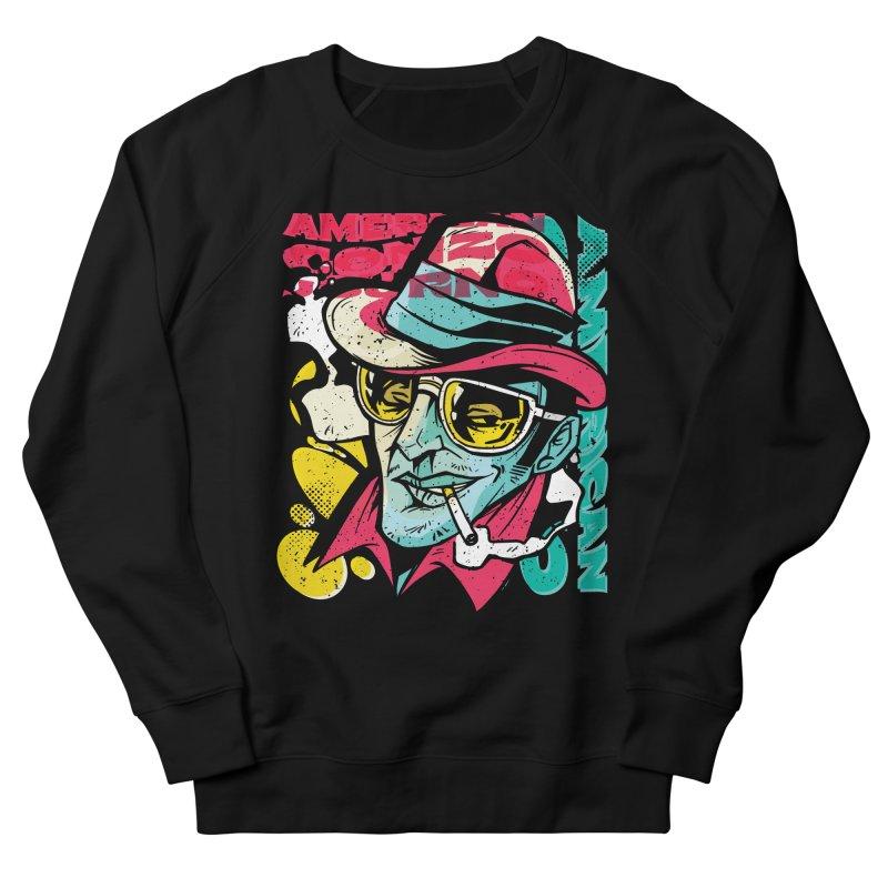 American Gonzo Women's Sweatshirt by Toxic Onion - Weird and Funny Stuff