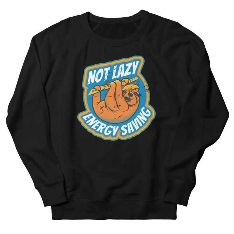 Not Lazy Sloth Men's Sweatshirt by Toxic Onion - A Popular Ventures Company
