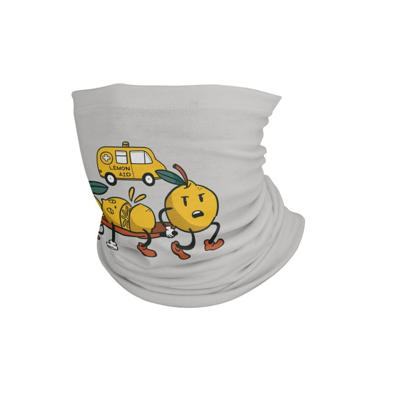 Lemon Aid Accessories Neck Gaiter by Toxic Onion - Weird and Funny Stuff