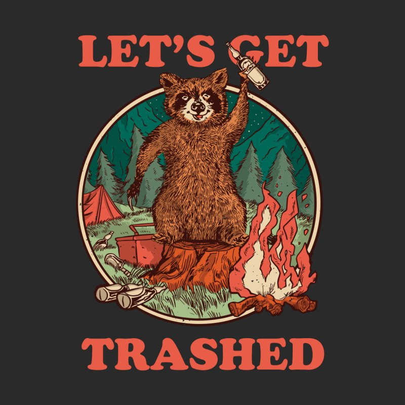 Let's Get Trashed Home Decor Mounted Aluminum Print by Toxic Onion - A Popular Ventures Company