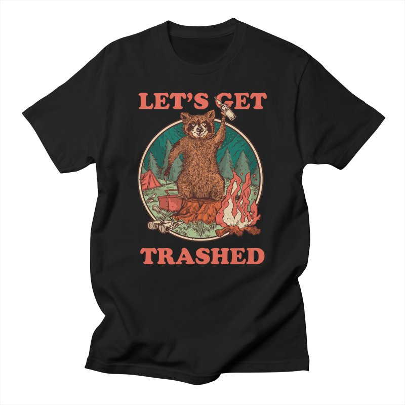 Let's Get Trashed Men's T-Shirt by Toxic Onion - Weird and Funny Stuff