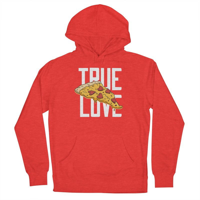 True Love Pizza Men's Pullover Hoody by Toxic Onion - Weird and Funny Stuff