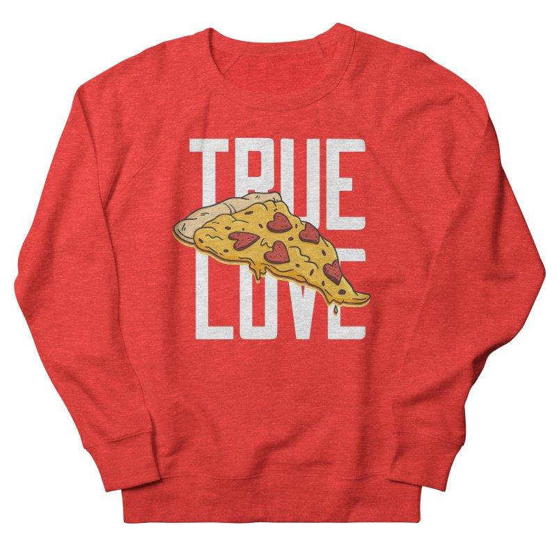 True Love Pizza Men's Sweatshirt by Toxic Onion - Weird and Funny Stuff