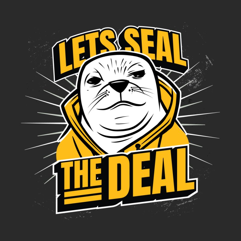 Lets Seal The Deal Women's Sweatshirt by Toxic Onion - Weird and Funny Stuff