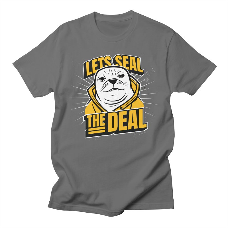 Lets Seal The Deal Men's T-Shirt by Toxic Onion - Weird and Funny Stuff