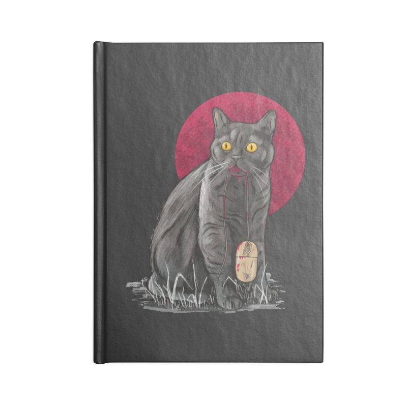 Cat And Mouse Accessories Notebook by Toxic Onion - Weird and Funny Stuff
