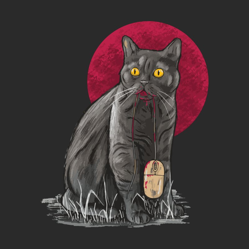 Cat And Mouse Men's T-Shirt by Toxic Onion - Weird and Funny Stuff