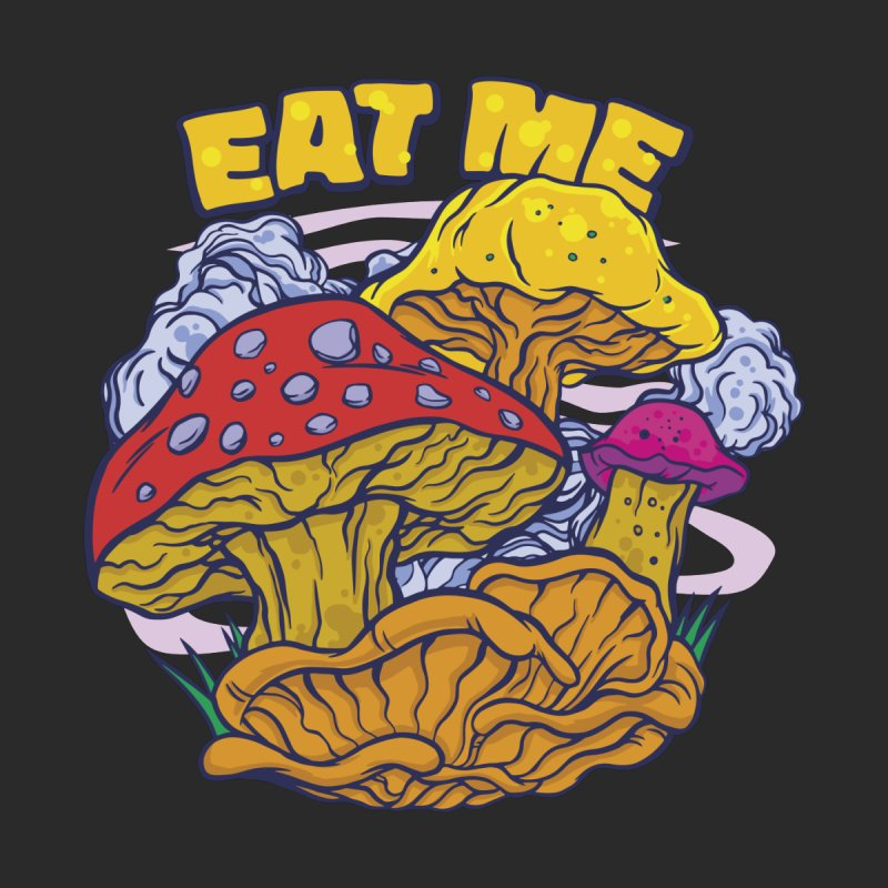 Eat Me Psychedelic Mushrooms Accessories Notebook by Toxic Onion - Weird and Funny Stuff