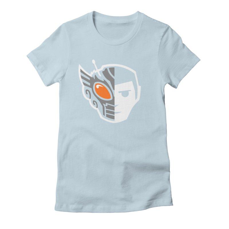Henshin Women's Fitted T-Shirt by toyebot's Artist Shop