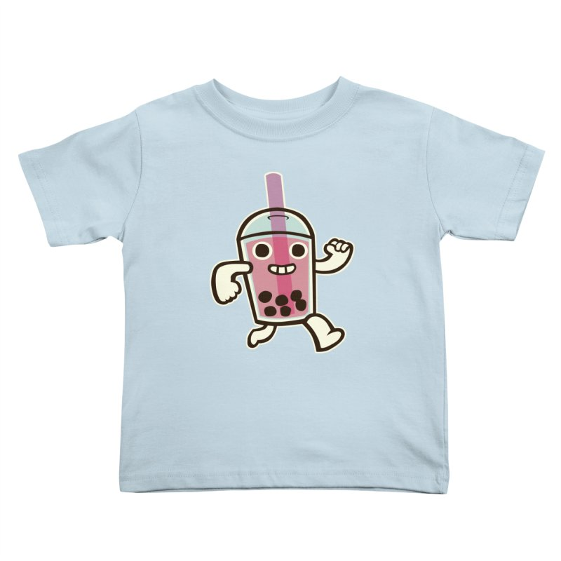 Bubble Tea Time! Kids Toddler T-Shirt by toyebot's Artist Shop