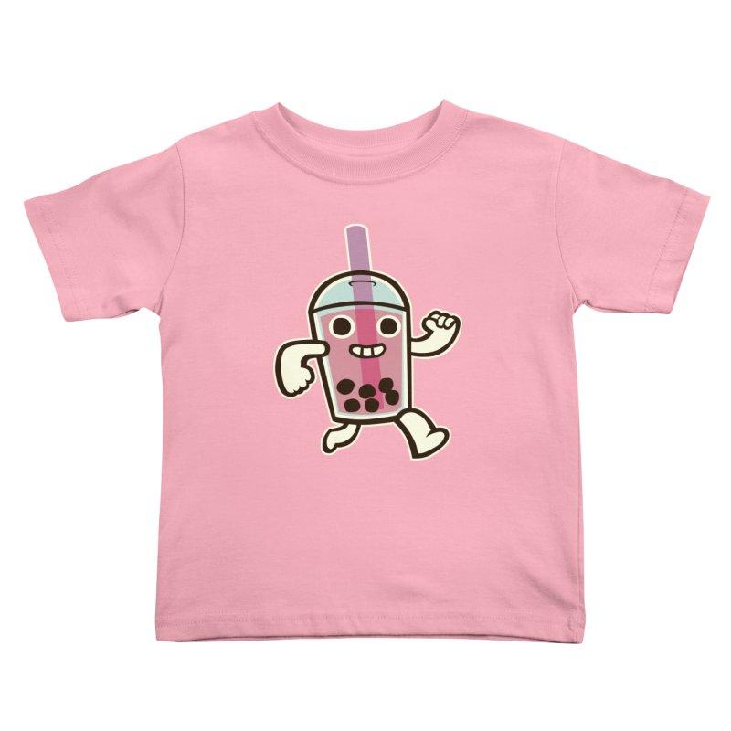 Bubble Tea Time! Kids Toddler T-Shirt by toyebot's Artist Shop