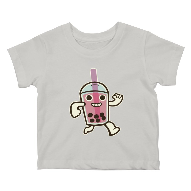 Bubble Tea Time! Kids Baby T-Shirt by toyebot's Artist Shop