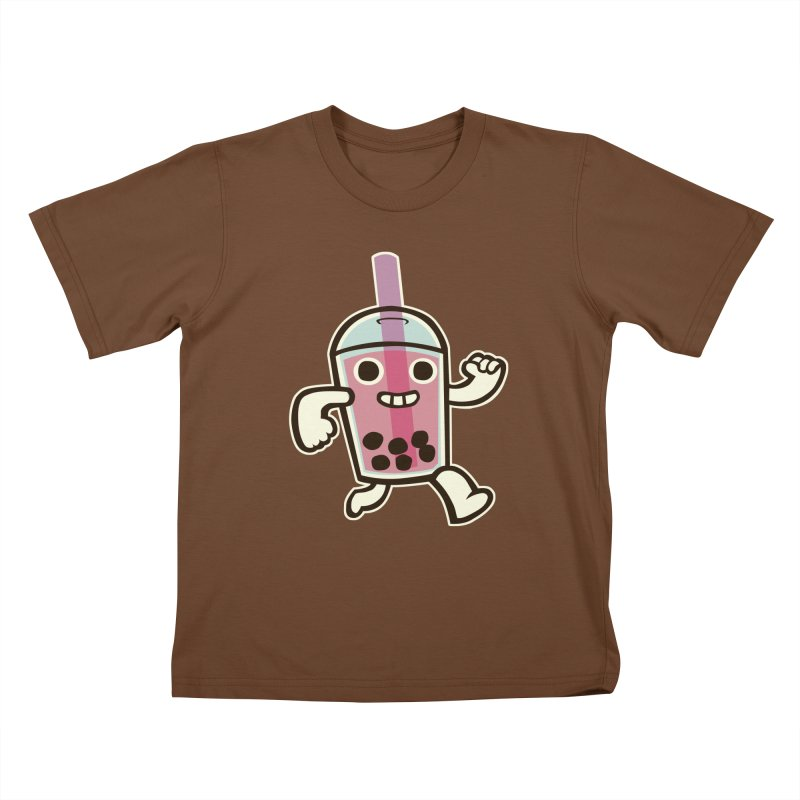 Bubble Tea Time! Kids T-Shirt by toyebot's Artist Shop