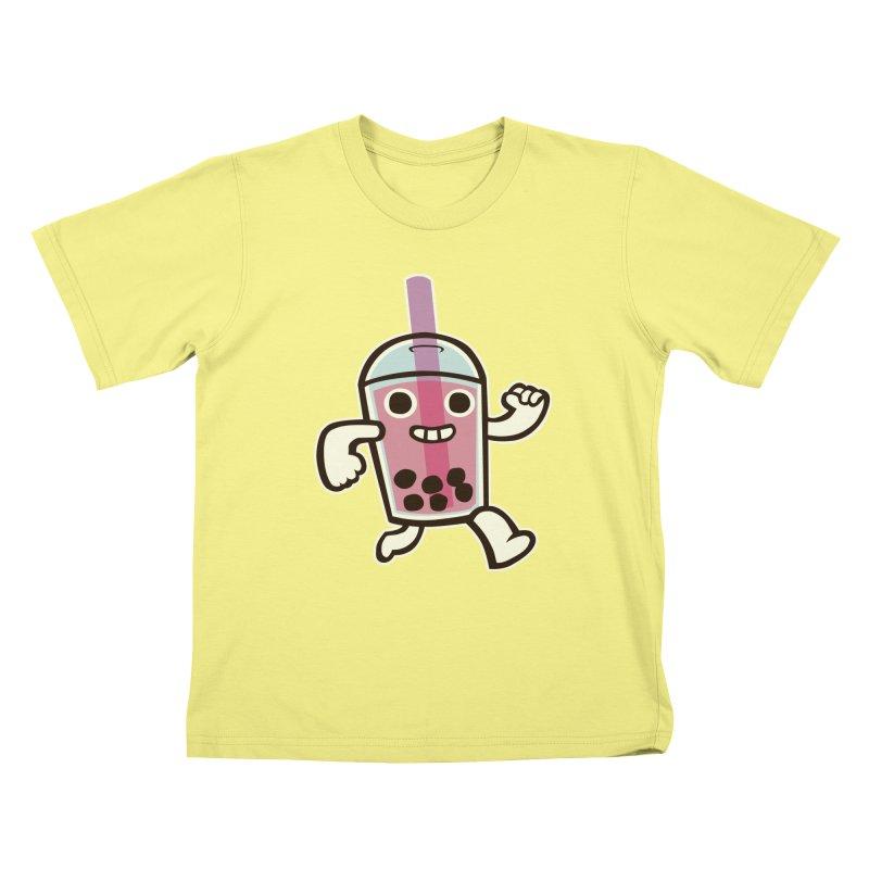 Bubble Tea Time! Kids T-shirt by toyebot's Artist Shop