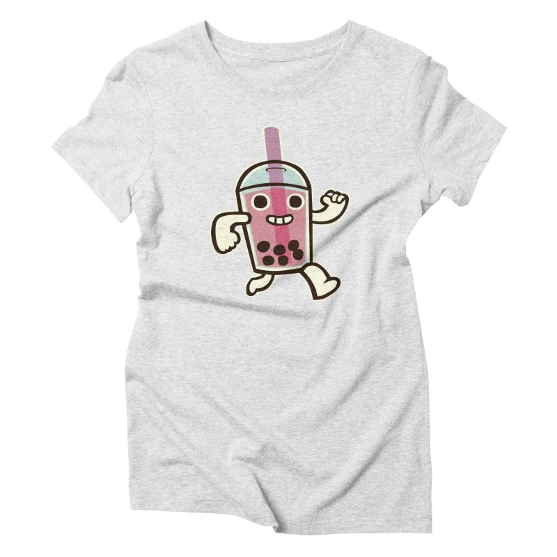 Bubble Tea Time! Women's Triblend T-Shirt by toyebot's Artist Shop