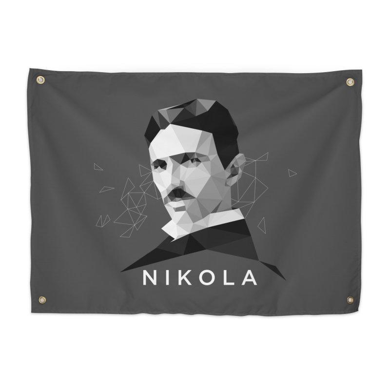 Nikola Home Tapestry by ToySkull