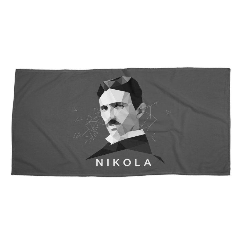 Nikola Accessories Beach Towel by ToySkull