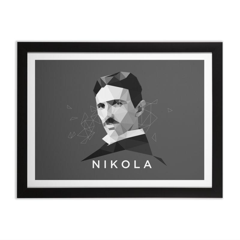 Nikola Home Framed Fine Art Print by ToySkull