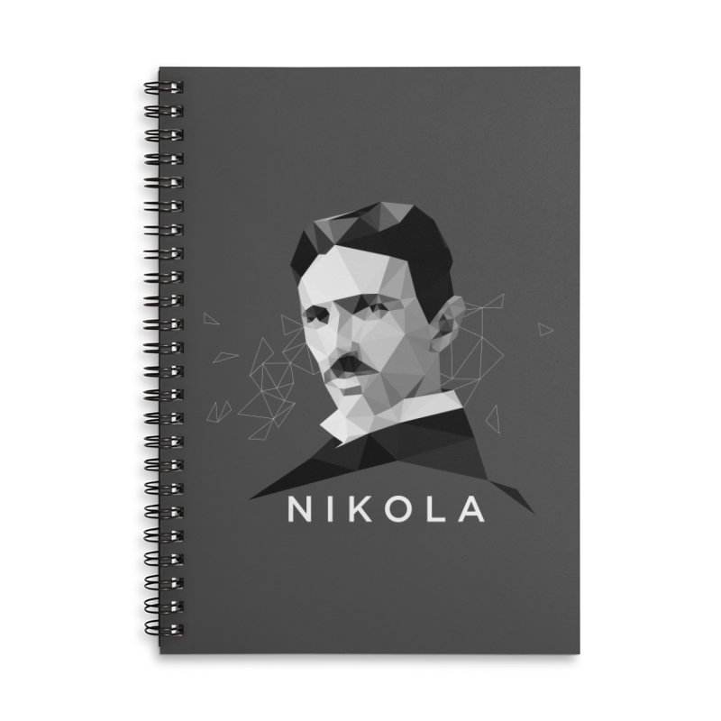 Nikola Accessories Notebook by ToySkull